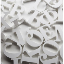 Буквы из пенопласта